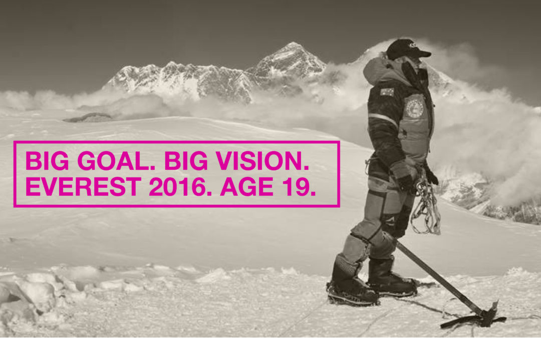 Alyssa has broken the record as the youngest Australian to Summit Mt Everest